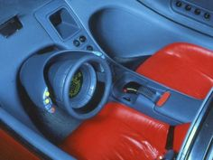 1985 Buick Wildcat Concept; the interior. It's like, what if Star Trek were a car instead of a TV show. Or maybe not Star Trek. Space: 1999, perhaps?