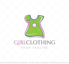 Logo for clothing businesses operating in the younger female fashion market. #logodesigner #startups #logomaker #business #creativedesigns #branding #logoart #logo #design #logodesign #designlove