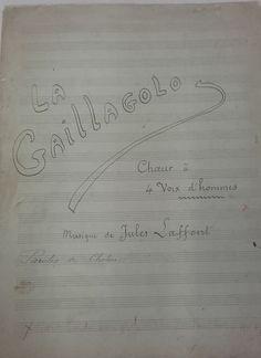 Partitions de Jules (1839 - 1909) et Noël Laffont (1870 - 1937) Partitions, Math, Wednesday, Math Resources, Mathematics