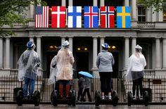 2016 : State dinner for Nordic allies takes a cue from the cold.