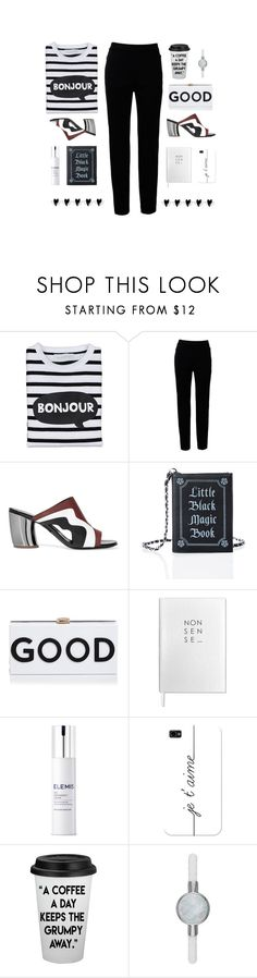 """A Good Day"" by molly2222 ❤ liked on Polyvore featuring Bob & Blossom, Narciso Rodriguez, Proenza Schouler, Current Mood, Milly, Sloane Stationery, Elemis, Casetify, Michael Kors and mules"