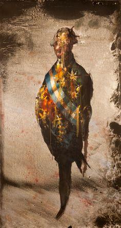 Håkon Gullvåg - Art Hakone, Trondheim, Batman, Contemporary, Superhero, Portrait, Artist, Painting, Fictional Characters