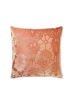 "Kevin O'Brien Studio Lace Velvet Pillow, Papaya/Tangerine, 20"" x 20"", http://www.myhabit.com/ref=cm_sw_r_pi_mh_i?hash=page%3Dd%26dept%3Dhome%26sale%3DAZR06FOZDW6JH%26asin%3DB008AF1OL6%26cAsin%3DB008AF1OL6"