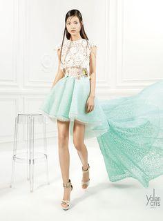 YolanCris | Red carpet dresses S/S Couture 2015  Cocktail ensemble #15117  #cocktaildress #dresses #fashion #style  #newtrends #fashiontrends #couture #redcarpetdresses #bridesmaidsdresses