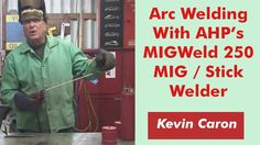 """Artist Kevin Caron shares how he """"unlocked the code"""" to stick weld with AHP's MIGWeld 250"""
