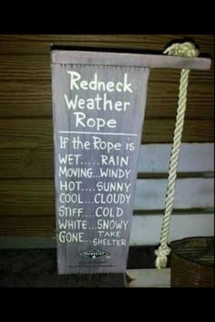 Our weather rope