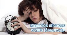 Descubre los mejores tips y remedios contra el insomnio.