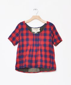 ace&jig fall13 shop tee in houndstooth at Conifer