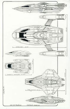 The spatial Star Trek universe from Star Trek: DS9