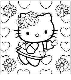 Crayola giant coloring pages hello kitty ~ 1000+ images about Coloring ~Crayola~ on Pinterest ...
