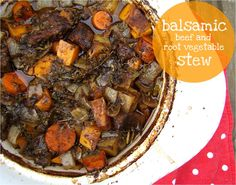 Round out this stew with whole grain bread and a salad!  Recipe could be used in a slow cooker so ready when you come home.