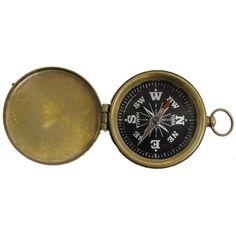 Explorer Pocket Compass With Lid
