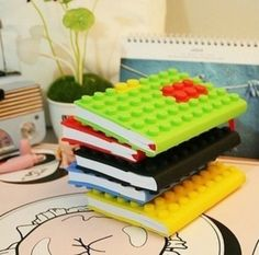 LEGO Notebooks - Idea only - no instructions