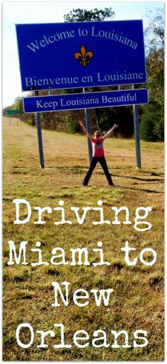 All the details about the first section of our Deep South Road Trip USA.  http://www.wheressharon.com/family-trip-usa-caribbean/road-trip-usa/driving-miami-new-orleans/  #travel #roadtrip