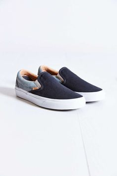 Vans Classic Knit Suede Slip-On Sneaker - Urban Outfitters