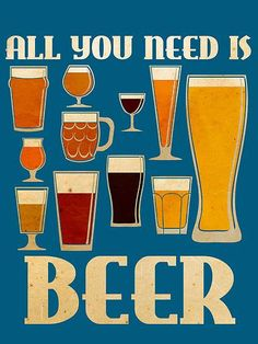 All you need is #beer!