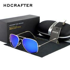 27ab50b74a HDCRAFTER Anti-reflective Coating Sunglasses Glasses Casual Business  Driving Oculos De Sol Masculino Feminino Sunglasses