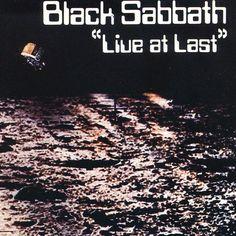 Black Sabbath Live at Last - vinyl LP Black Sabbath Live, Black Sabbath Albums, Lp Cover, Cover Art, Used Vinyl Records, War Pigs, Uk Charts, At Last, Movies