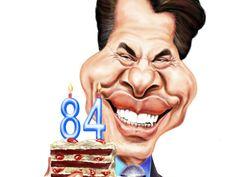Prestes a completar 84 anos, um dos ícones da televisão brasileira ganha uma exposição de caricaturas em sua homenagem nas estações do Metrô.