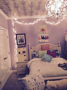 """ For a cute tumblr room hang Christmas lights with clear tacks in your room! ""  Gabby K"