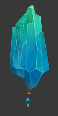 Image result for painted crystals