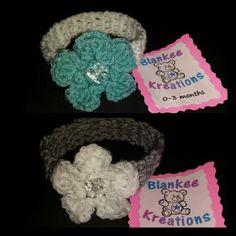 Chloe's headbands (0-3 months)