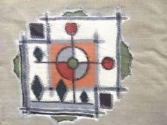 74405# JAPANESE KIMONO / ANTIQUE KIMONO / MEISEN / WOVEN ABSTRACT in Antiques, Asian Antiques, Japan, Kimonos & Textiles | eBay
