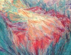 Keijun uni -postikortti Pastellikuva: Sinikka Tompuri (Sara)