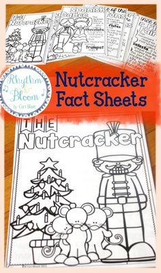 Nutcracker Listening Journal & Fact Sheets! My students have so much fun writing and coloring while we listen