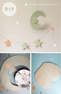 DIY #stars #kids  | kinderkamerstylist.nl