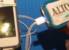 Need a quick backup battery for your phone? You can make one of these backup phone chargers from just a 9V battery and the guts of a dollar store car charger.  I found this particularly clever because it's not obvious that to charge a 5V device, one might take a part a 12v charger and substitute a 9V battery -- but it's the the dollar store electronics that do the voltage matching. Very nice.