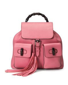 #Gucci #Pink backpack
