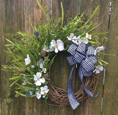Check out Spring Wreath-Front Door Wreath-Rustic Cottage Wreath-Farmhouse Wreath-Year Round Wreath-Dogwood Wreath-Grass Wreath-Outdoor Spring Decor on shabbynestdesigns Spring Front Door Wreaths, Spring Door, Greenery Wreath, Grapevine Wreath, Wedding Wreaths, Wedding Decorations, Year Round Wreath, Rustic Cottage, Easter Wreaths