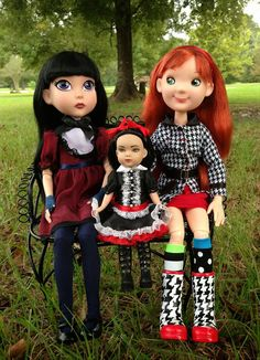 Tonner Dolls: Maudlynne Macabre, Kickits Up to Something, and Little Miss Matched Uptown Girl