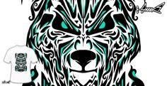 T-shirts - Design: Alone Wolf - by: Javier Araiza
