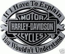 HARLEY DAVIDSON IF I HAVE TO EXPLAIN VINTAGE PIN
