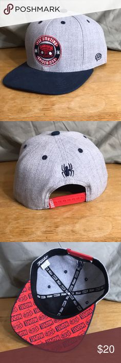 The Amazing Spider-Man Limited Edition SnapBack Funko POP exclusive SnapBack. Marvel Accessories Hats