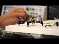 Crazyflie 2.0: First protoype flying