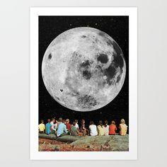 Full Moon Gazers, by Eugenia Loli