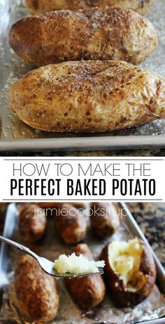 How to Make the Perfect BAKED POTATO from Jamie Cooks It Up! potato al horno asadas fritas recetas diet diet plan diet recipes recipes Best Twice Baked Potatoes, Cooking Baked Potatoes, Crock Pot Baked Potatoes, Stuffed Baked Potatoes, How To Cook Potatoes, Jamie Oliver Baked Potatoes, Smoked Baked Potatoes, Loaded Baked Potatoes, Cooking Bacon