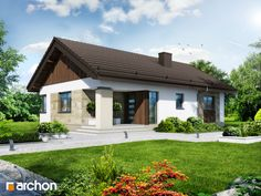 projekt Dom w owocolistkach Stylizacja 3