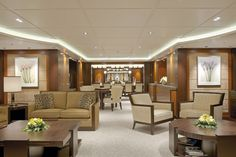 Lürssen turns fantasy into reality, creating an air of casual elegance onboard the 196 feet M/Y Solemates. Super Yachts, Casual Elegance, Luxury Lifestyle, Elegant, Table, Fantasy, Furniture, Design, Home Decor