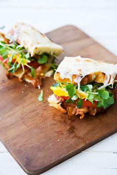 B.E.L.T. (Bacon Egg Lettuce Tomato):