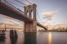 Photograph *Reƒlecting*Light* by Anthony Fields on Rio, Best Titles, Brooklyn Bridge, Travel Pictures, Fields, Sunrise, Around The Worlds, Building, Awesome