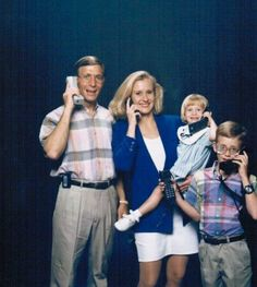 """Akward Family Photos - """"Can you hear us now?"""" (submitted by Katie)"""
