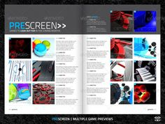 Buy Video Game Magazine Template by bilmaw on GraphicRiver. gamezone – Video Games Magazine Template Beautiful, Modern Layout for a Video Games Magazine. Video Game Magazines, Magazine Contents, Yearbook Ideas, Print Design, Graphic Design, Magazine Layouts, Magazine Template, Print Magazine, Brochure Template
