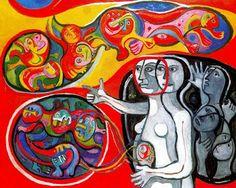 Luna Roja: La Sensibilidad como contemplación del mundo: El arte de Raquel Forner