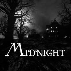Midnight from dark candles