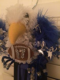 Falcon Themed Homecoming Garter