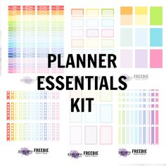 I answer the questions of the Planner Addict Challenge created by Elle Fowler and Belinda Selene and share a planner stickers essentials freebie kit at the end!